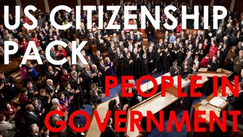 People in Government - US Citizenship Pack