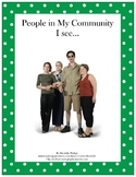 People in My Community!  (Vocabulary development)