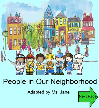 People in Our Neighborhood (Community Helpers SmartBoard Book with Sounds!)