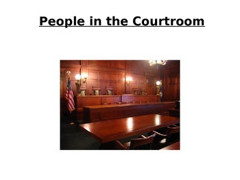 People in the Courtroom