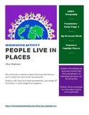 People live in places