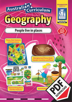 People live in places – Australian Curriculum Geography – Foundation