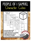 People of 1 Samuel Character Cube Activity and Writing Extension