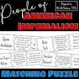People of American Imperialism Puzzle Activity