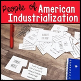 People of American Industrialization Puzzle Activity