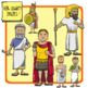 People of Ancient Civilizations Clip Art: Ancient Greece + Persia