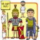 People of Ancient Civilizations Clip Art: Ancient Rome