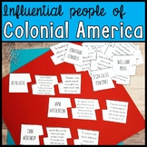 People of Colonial America Puzzle Activity