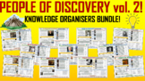 People of Discovery Volume 2 - Knowledge Organizers Bundle!