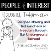 People of Interest: Harriet Tubman {A Social Studies Unit}