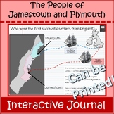 Colonization Virginia Massachusetts in Jamestown and Plymo