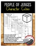 People of Judges Character Cube Activity and Writing Extension