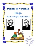 People of Virginia Bingo: Virginia Studies SOL aligned