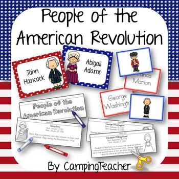 People of the American Revolution