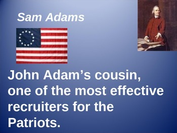 People of the American Revolution Powerpoint