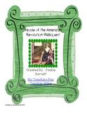 People of the American Revolution Webquest