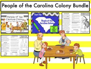 People of the Carolina Colony (South Carolina) Bundle