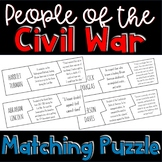 People of the Civil War Puzzle Activity