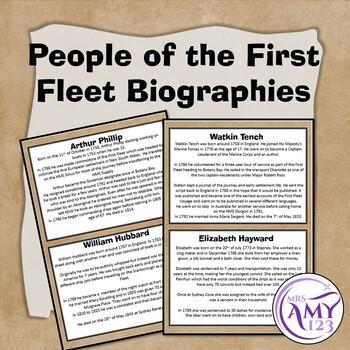 first fleet convicts pdf year 4 presentation