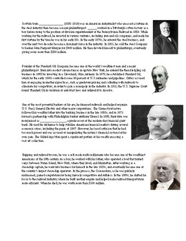 People of the Gilded Age