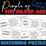 People of the Gilded Age Puzzle Activity