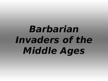 Barbarian Invaders