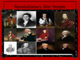 People of the Revolutionary War