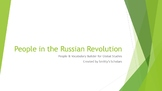 People of the Russian Revolution