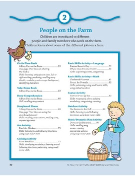 People on the Farm: Center Activity