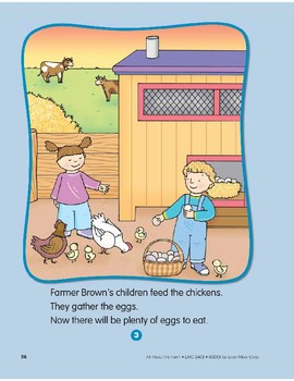 People on the Farm: Circle-Time Book
