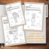 Peoples Jobs ABC Worksheets