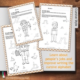 People's Jobs ABC Worksheets