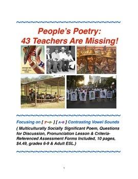 People's Poetry: 43 Teachers Are Missing!