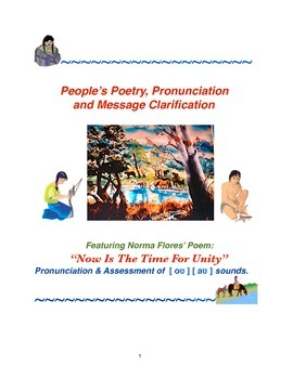 People's Poetry, Pronunciation and Message Clarification: Unity