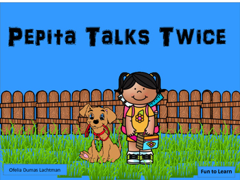 Pepita Talks Twice     45 pgs of Common Core Activities.