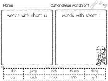 Pepita Talks Twice Story Study and Word Sort Short i, o, and u