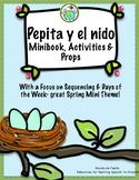 Pepita descubre un nido Spring Theme Pack in Spanish