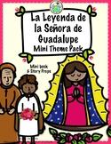 Pepita lee la Leyenda de la Señora de Guadalupe Mini Book & Story Props