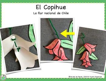 Pepita va a Chile Minibook & Theme Pack in Spanish