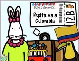 Pepita va a Colombia Spanish Minibook & Activity Pack Cult