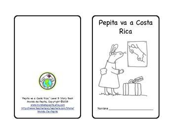 Pepita va a Costa Rica Minibook and Activity Pack in Spanish