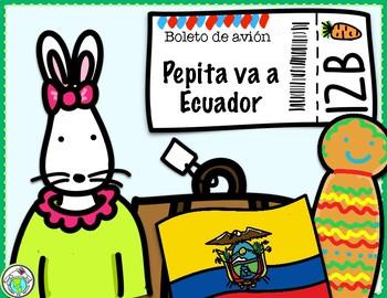 Pepita va a Ecuador Spanish Minibook & Activity Pack Culture in Context