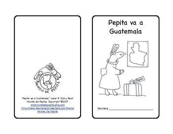 Pepita va a Guatemala Culture Minibook and Theme Pack