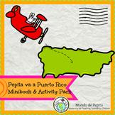 Pepita va a Puerto Rico Spanish Culture Minibook and Activity Pack
