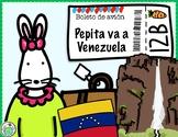 Pepita va a Venezuela Printable Minibook & Activity Pack Spanish Culture