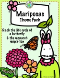 Mariposas Butterfly Life Cycle Theme Activity Pack & Spani