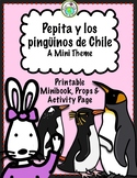 Pepita y los pingüinos de Chile Penguins Mini Theme Pack in Spanish