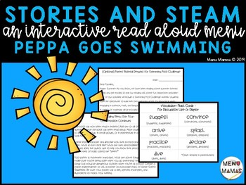 Stories & STEAM: Peppa Goes Swimming