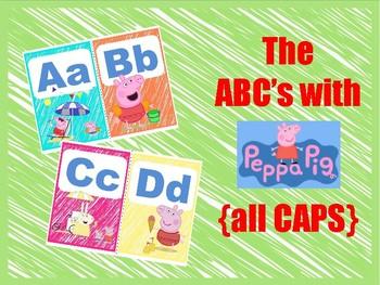 Peppa Pig ABC capitals