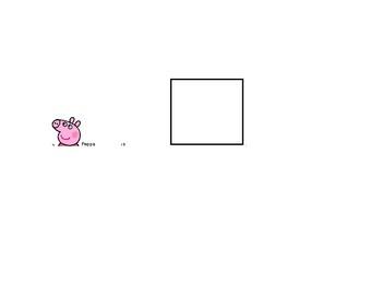Peppa Pig Action Words (Speech & Language Activity)